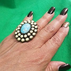 Vintage OLLIPOP USA ring